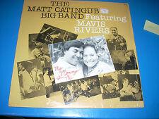 The MATT CATINGUB Big Band Featuring Mavis Rivers LP Sea Breeze 1983 NM/VG+