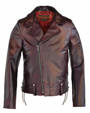 SCHOTT Chips p6521 Bourgogne Horween Excel Horsehide Leather-LIMITED 1 OF 50