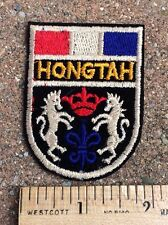 Hongtah Red White Blue Crest Coat of Arms Patch Badge