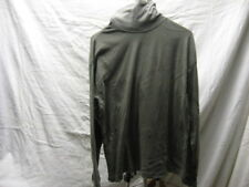 Vintage Flying Colors L Large Grey Turtleneck Shirt 60% Cotton 40% Polyester