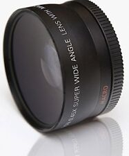 Macro Close Up & Objectif grand angle pour Fuji Finepix HS25EXR HS28EXR HS30EXR, HS30