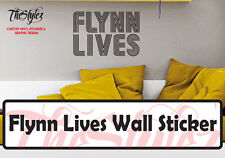 Flynn Lives Custom Vinyl Sticker (Tron Legacy)