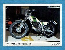 MOTO 2000 - Panini 1972 -Figurina-Sticker n. 174 - OSSA REGOLARITA' 125 -Rec