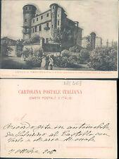 CASTELLO DI MONASTEROLO,SALUZZO,PRIMI 900-F.P.PIEMONTE(CN) N.40513