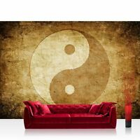 Yin Yang Peace Mural Photo Vintage Retro Size XXL Decoration Wall Dispatch Home