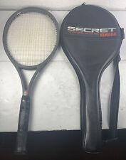 New listing YAMAHA SECRET 04 TENNIS RACQUET  4 1/2 Grip with Case