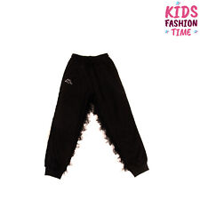 Sofia x Kappa Track Trousers Size 14Y Tulle Fringe Embellished Handmade in Italy