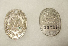 Vintage Charge Token s  Lit Bros Phila Chatlin's Norristown Pa 2 In Lot