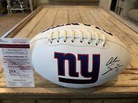 Alec Ogletree Autographed/Signed Football JSA COA New York Giants