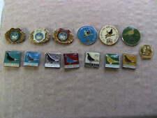Pigeon pin badge lot of 14,  Novi Sad Yugoslavia