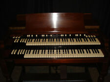"Hammond Organ model ""B3"" with pedal, bench, and Leslie speaker"