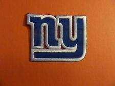 NEW YORK GIANTS NFL EMBROIDERED IRON ON 2-3/8 X 2-7/8 PATCH