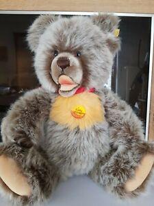 Steiff-Grizzly Zotty aus den 1980/90er Jahren, Kopf, Arme und Beine beweglich, b