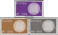 Irland 239-241 (kompl.Ausg.) postfrisch 1970 Europa