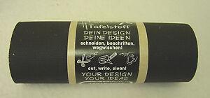 Tafelstoff schwarz, 12 cm breit  x 3 Meter lang, 95 % Baumwolle 5 % Polyurethan