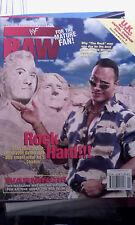 WWF WWE RAW 98 AGOSTO 1998 Rock Dwayne Johnson Inferno in cella MICK FOLEY l'umanità