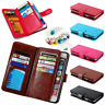 Popular Powerful Wallet Photo Frame Leather Stand Cover 9 Card Slot Purse Case