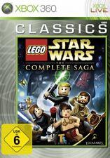 XBOX 360 LEGO STAR WARS KOMPLETTE SAGA GuterZust.