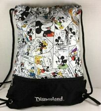 Disneyland Mickey Mouse and Characters Comic Strip String Backpack