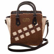Star Wars Episode 8 The Last Jedi Chewbacca and Porg Mini Brief Handbag Purse