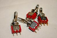 """Switchcraft® #3037T 1//4/"""" Lever Switch DPDT 101-351 ON//OFF//MOM-ON"""