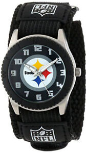 Pittsburgh Steelers NFL Rookie Black Youth Watch