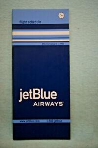 JetBlue Airways - Timetable - Jan 7, 2003