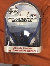MLB CHICAGO CUBS OFFICIALLY LICENSED HEADPHONES NEW IN PACKAGE