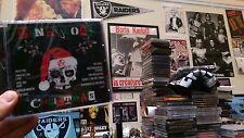 Punk Rock Christmas Various Artists CD Iggy UK Subs Vibrators 45 Grave ANL Dogs