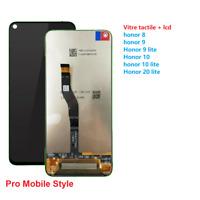 ECRAN COMPLET VITRE TACTILE LCD HUAWEI HONOR 8 / 9 / 10 / 10 Lite 20 lite