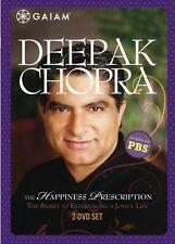 DEEPAK CHOPRA THE HAPPINESS PRESCRIPTION New Sealed DVD