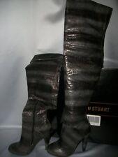 Victorias Secret Sexy Thigh High Boots Python NWT 5