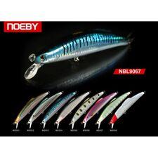 Noeby leurre sinking pêche mer rivière carnassier 14cm 32g couleur 1 nage 1,8m