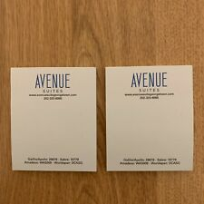 Avenue Suites Hotel Sticky Notes Georgetown Washington DC Boutique Office Supply