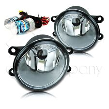 Camry Corolla Matrix Rav4 Venza Replacement Fog Lights w/HID Kit - Clear