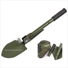 Folding Military Shovel Survival Spade Emergency Garden Camping Outdoor Tool Min
