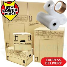 More details for new x large double wall cardboard house moving boxes -removal packing box bundle