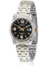 Casio LTP1314SG-1AV Ladies Analog Watch Stainless Steel Band Gold Silver New
