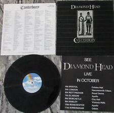 DIAMOND HEAD CANTERBURY VINYL ALBUM LIKE NEW PRE OWNED