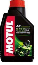 5 x l OIL MOTUL 5100 10/40 10W40 MA2 4T LITER OFFER NEW ENGINE OIL