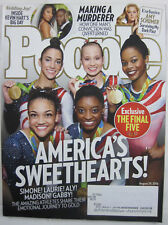 People V86N9 America's Sweethearts! Emotional Journey To Gold - August 29, 2016