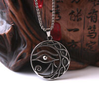 Fashion Men's Punk Charm Head Pendant Choker Chain Hip Hop Necklace Jewelry