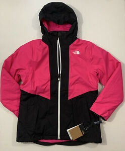 The North Face NWT Girl's Size XL 18 Clementine Triclimate Jacket Coat 3 in 1