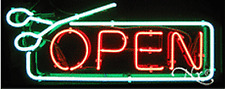 "Brand New ""Open"" 32x13 w/Border Real Neon Sign w/Custom Options 10594"