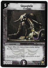 Gigagiele 56/110 - Duel Masters DM01 - Rare - Englisch - Mint