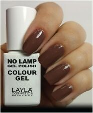 Layla Cosmetics Milano Lamp Gel Polish Smalto per Unghie Tonka Bellezza (ozj)