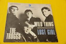 "7"" SOLO COPERTINA SENZA DISCO TROGGS WILD THING ORIG ITLAY '60"