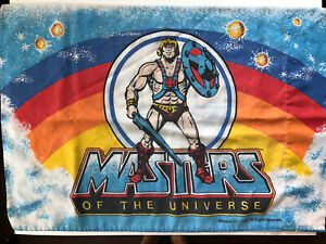 Vintage 1983 Masters of the Universe He-Man Pillowcase Made in the USA 20.5 x 29