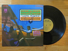 HERB ALBERT & the TIJUANA BRASS signed !!GOING PLACES!! 1965 Record / Album COA