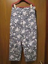 Oscar de la Renta Girls Navy Blue 3 Pocket Pants Size 12Y